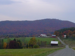 Back Roads of Vermont during Fall Foliage